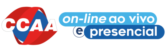 CCAA - On-line ao vivo e presencial