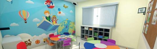 Sala de aula CCAA para crianças